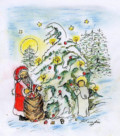 wie weihnachtsbaum schmücken