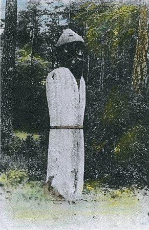 Weißes mädchen aus schwarzen mann